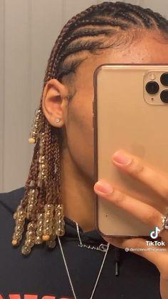 Box Braids Hairstyles For Black Women, Braids Hairstyles Pictures, Protective Hairstyles For Natural Hair, Natural Hair Braids, Girls Natural Hairstyles, Dyed Natural Hair, Curly Hair Tips, African Braids Hairstyles, Braids For Black Hair