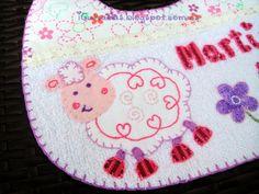 iCukadas: Baberos personalizados para niñas
