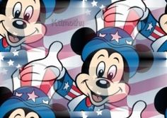 disney fourth of july clipart