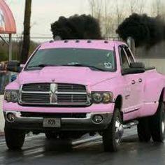 Dodge Cummins in pink!!!