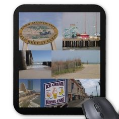 Sold - Atlantic City Boardwalk Mousepad (CA)  thank you!