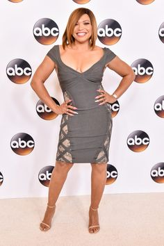 Actress Tisha Campbell-Martin attends the Disney ABC Television Group TCA  Summer Press Tour on