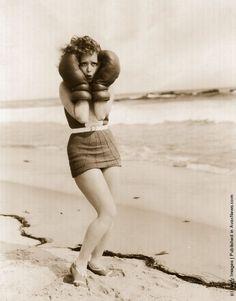 Clara Bow - Malibu 1927
