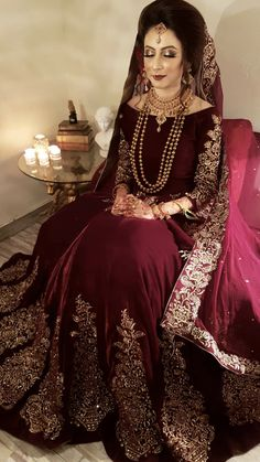 Hottest Photos Pakistani Gorgeous Bride Tips Beautiful Wedding Dresses ! The current wedding dresses 2019 includes a dozen various dresses in the Asian Bridal Dresses, Indian Bridal Outfits, Pakistani Wedding Outfits, Wedding Dresses For Girls, Pakistani Dress Design, Pakistani Wedding Dresses, Party Wear Dresses, Pakistani Fashion Party Wear, Pakistani Dresses Casual