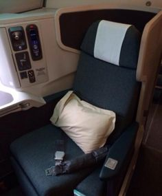 Cathay Pacific Business Class Airline Seats.