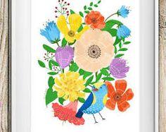 Risultati immagini per stampe floreali messico