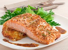 If you're looking for healthy dinner recipes to lose weight you're on right place. Healthy dinner ideas for weight loss, weight loss dinners Marinated Salmon, Baked Salmon, Salmon Recipes, Fish Recipes, Calories In Vegetables, Fruit Calories, Air Fryer Recipes Easy, Air Fryer Healthy, Cookbook Recipes