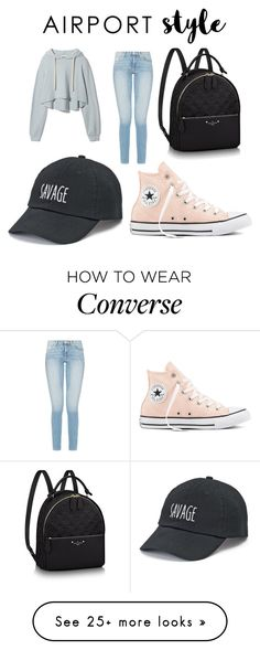 """""""Time To Travel"""" by most-fashionable on Polyvore featuring SO and Converse"""