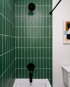 Design + Build by construction2style. Photo by Chelsie Lopez Production. Bathroom Trends, Kitchen Tiles, Design Consultant, Wall Tiles, Free Design, Emerald, House Design, Flooring, Room Tiles