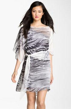Abi Ferrin 'Nicola' Convertible Chiffon Dress available at Nordstrom