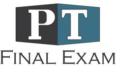 PT FINAL EXAM - Mastermind Study Groups. An awesome resource for students! Live video sessions and help from awesome people!