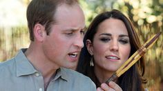 The Duke and Duchess of Cambridge are in the Northern Territory where they will visit Australia's most famous natural landmark - Uluru.