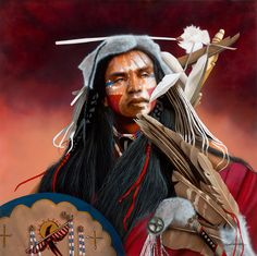 Native Americans Indians Vanishing Dreams by JD Challenger