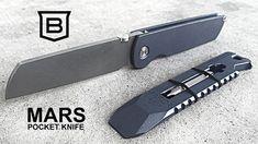 MARS POCKET KNIFE - a classically inspired modern archetype by Balzano — Kickstarter