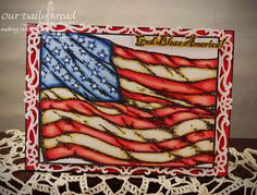 ODBDSLC160 Red/White/Blue or Patriotic - Stamps Our Daily Bread Designs God Bless America