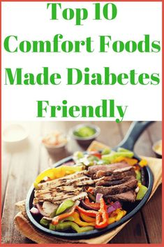 All your favorite comfort foods tweaked to make them diabetes friendly and lower carb. Cutting the carbs down means you can enjoy these comforting options more often. Diabetic Living, Healthy Living, Eating Healthy, Clean Eating, Pizza, Wraps, Cure Diabetes Naturally, Diabetes Care, Beat Diabetes
