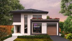 Model 138mp   Case de top Garage House, Design Case, House Plans, Exterior, House Design, Mansions, Architecture, House Styles, Outdoor Decor