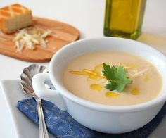 Cauliflower and Smoked Cheddar Soup (Low Carb and Gluten Free) | All Day I Dream About Food