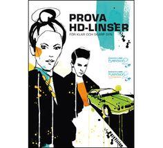 Design co-op with Swedish illustrator Cecilia Lundgren - For crisp clear vision