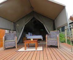 Woodbury Tented Camp on Amakhala Game Reserve
