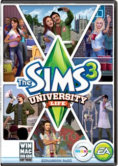 "The Sims 3 | The Sims Official Site ""University Life"""