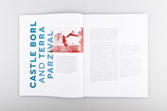 Parzival Meets Modern Architecture on Editorial Design Served
