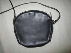 COACH - Authentic Vintage Coach Leather Canteen Crossbody Bag.