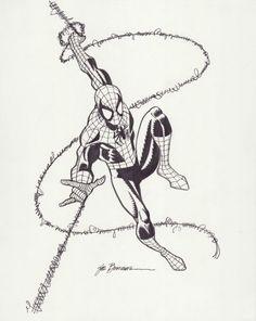Sal Buscema Spider-Man, in mark depolito's Spider-Man Related pieces Comic Art Gallery Room Spiderman Drawing, Spiderman Art, Comic Books Art, Comic Art, Book Art, Amazing Fantasy 15, Sal Buscema, Fox Kids, Spider Tattoo