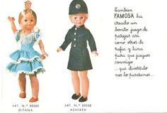 Nancys de mi infancia: Gitana 1974 y 1976