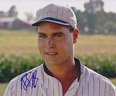 """""""If you build it, he will come."""" Shoeless Joe Jackson (Ray Liotta) Field of Dreams 1989 Father And Son Movie, Great Father, Ray Liotta, Kevin Costner, Iowa, Movie Drinking Games, Jackson, Famous Movie Quotes, Tv Quotes"""
