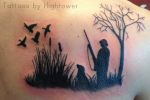 duck hunter tattoo