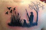 duck hunter tattoo
