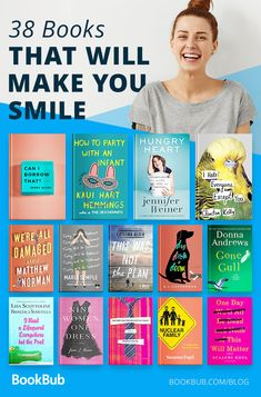 This reading list of happy books is sure to make you smile and laugh. The Effective Pictures We Offer You About uplifting book club books A quality picture can tell you many things. Feel Good Books, Best Books To Read, I Love Books, My Books, Reading Books, Books To Read In Your 20s, Best Books Of All Time, Best Fiction Books, Books To Read For Women