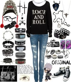 """Rock and Roll"" by rukiakuchiki12341 on Polyvore"