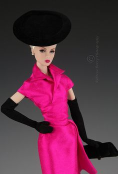 Lilith in hot pink silk Bogue's Vogue 1 | Flickr - Photo Sharing!