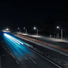 Moving lights 📷  #great #city #photography #photograph #night #ribeiraopreto…