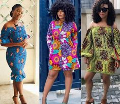 All in all, Ankara short gown is the best choice for female. that make you look chic and attractive. African Print Dresses, African Print Fashion, African Fashion Dresses, African Dress, African Outfits, African Prints, African Tops, African Clothes, African Wear