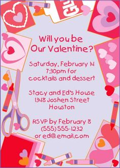 st valentines day invitations szukaj w google