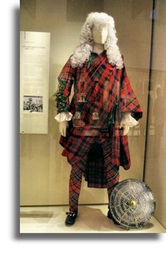 Collection of garments owned by Sir John Hynde Cotton (1686-1752), a well-known English Jacobite (In the collection of the Museum of Scotland)