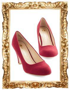 Minimalist Marvel Heel in Red - $34.99