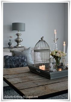 beautiful accessories in gray - ElisabethsBorg.blogspot.com
