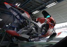 shred:  ArtStation - Hover Racer, Yusuke Mori