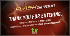 TV Insider · The Flash Sweepstakes TV Insider is giving away The Complete First Season of Flash on Blu-Ray and Digital HD. Enter now for your chance to be 1 of 25 winners selected. Come back again …