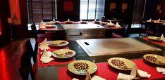 Benihana - Restocracy - topul restaurantelor 2017 18th, Table Settings, Restaurant, Diner Restaurant, Place Settings, Restaurants, Dining, Tablescapes