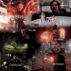 Movie Memes, Doctor Strange, Archetypes, Benedict Cumberbatch, Book Stuff, Marvel Movies, Wizards, Vampires, The Magicians