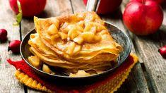A legintenzívebb ízű palacsinta, amit valaha ettél | nlc Healthy Dinner Recipes, Breakfast Recipes, Snack Recipes, Omelette, Muffins Sans Gluten, Nutella, Sauce Caramel, Cereal, Cheese Muffins
