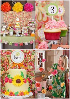 Garden themed party