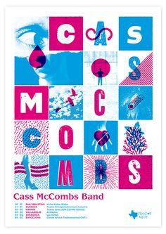 Cass McCombs - gig poster