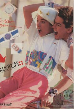 Benetton Ad 1984