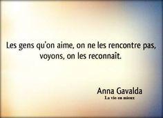 "Anna Gavalda ""La vie en mieux"":"